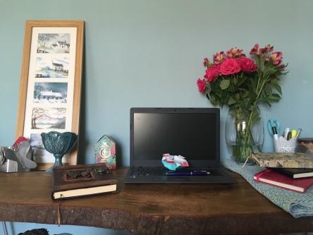 Rainy's desk 16