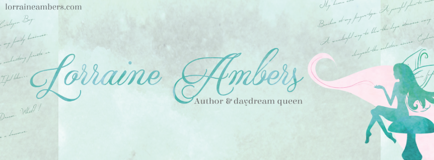 YA fantasy romance Author Lorraine Ambers Desk Novel Writer