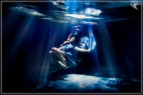 girl underwater fantasy magic wrting author Lorraine Ambers