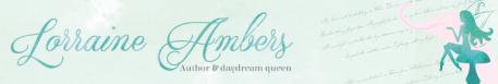 Author Lorraine Ambers Web-Banner YA fantasy book review romance