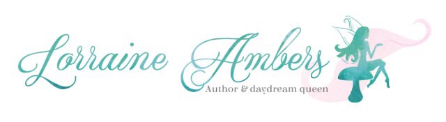 Author Lorraine Ambers writing novel