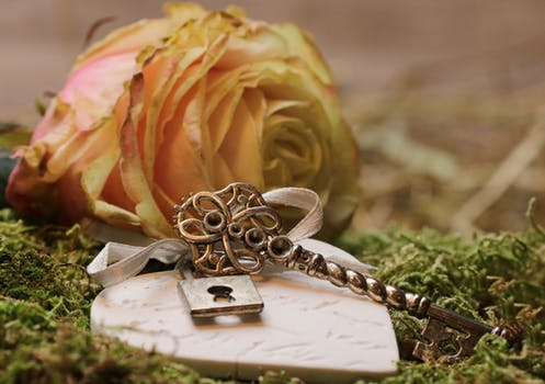 Rose Key Heart Lock romance heartbreat Lorraine Ambers