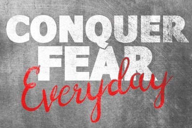 Conquer fear Author Lorraine Ambers