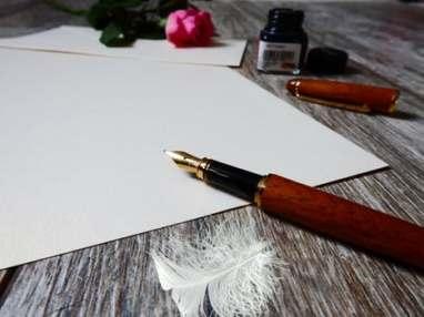 paper pen writing novel author fantasy Lorraine Ambers