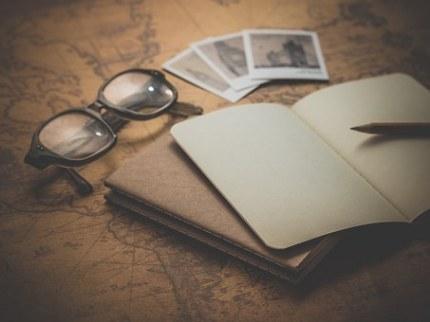 maps-desk-notes writing novel ideas