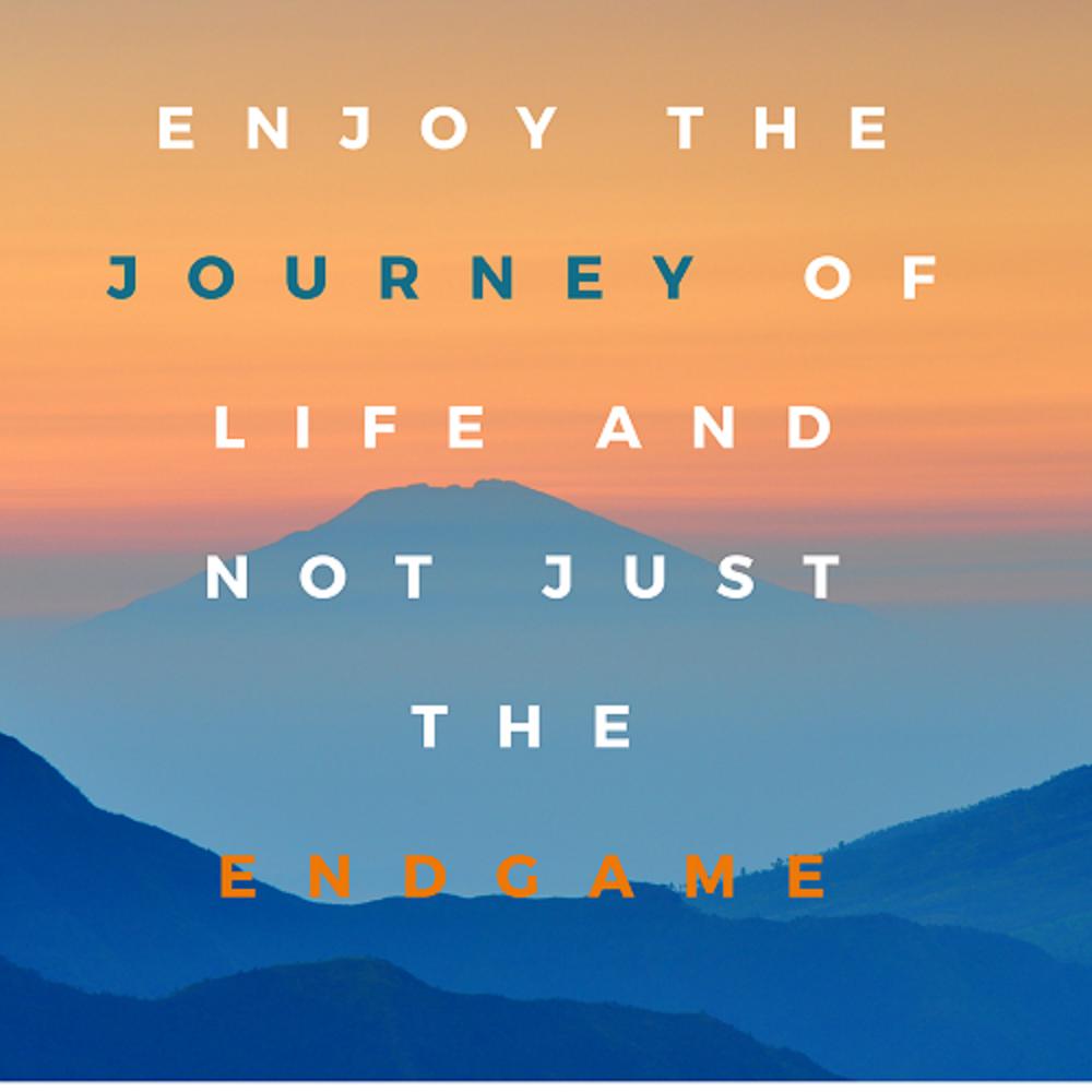 Enjoy the journey - Benedict Cumberbatch
