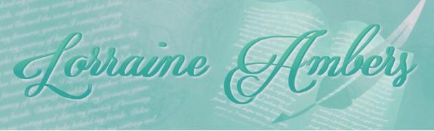 Fantasy writer Lorraine Ambers blog banner