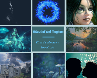 Loved, nymph, magic, enchanted grove, castle, novel aesthetics