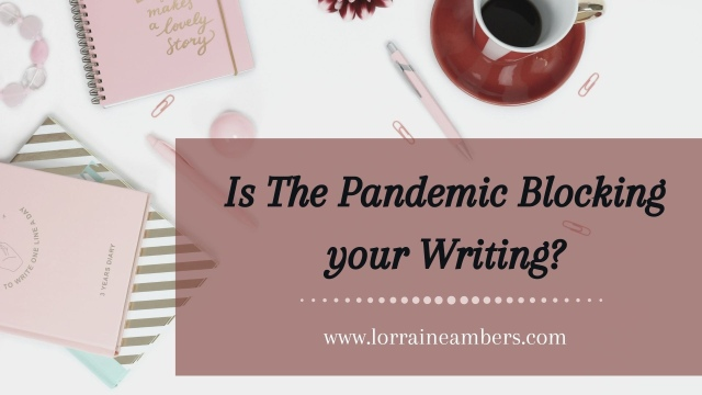 Writers block — blog banner
