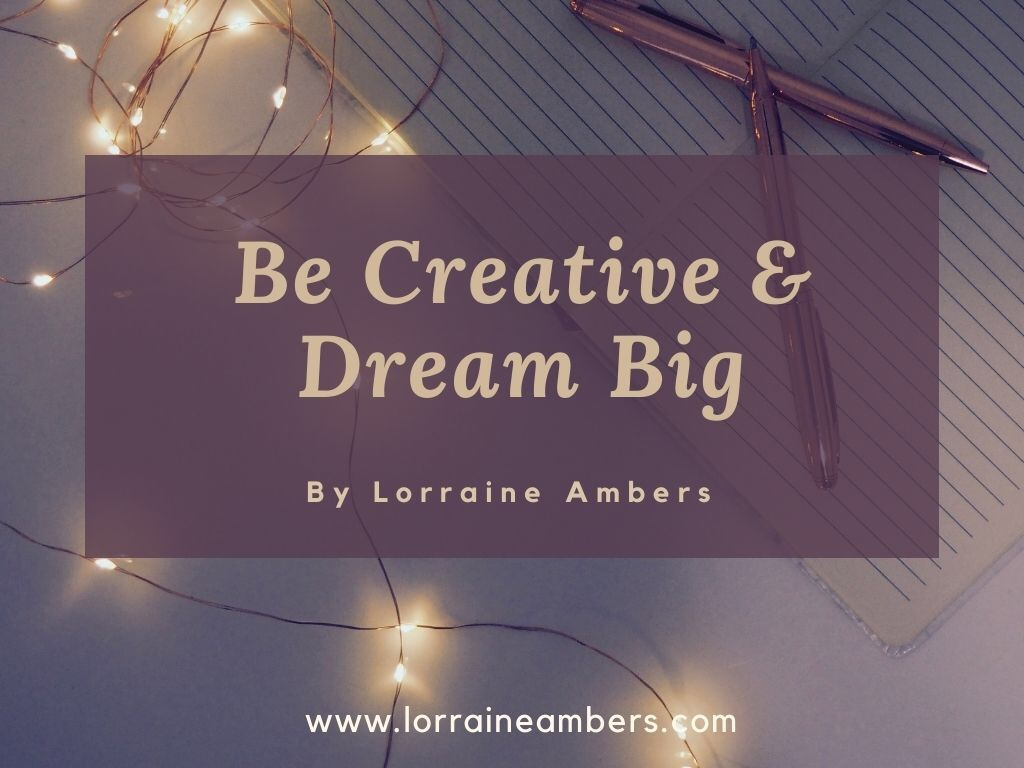 Blog banner - be creative