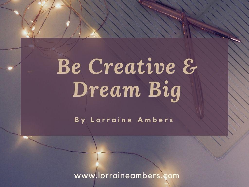 Blog banner - be creative